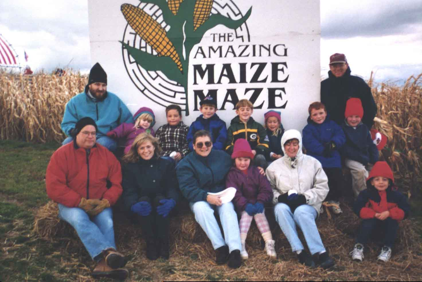 At the Maize Maze